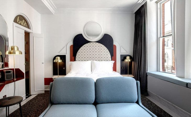 Designer Dorothee Meilichzon Shapes The Henrietta Hotel in London