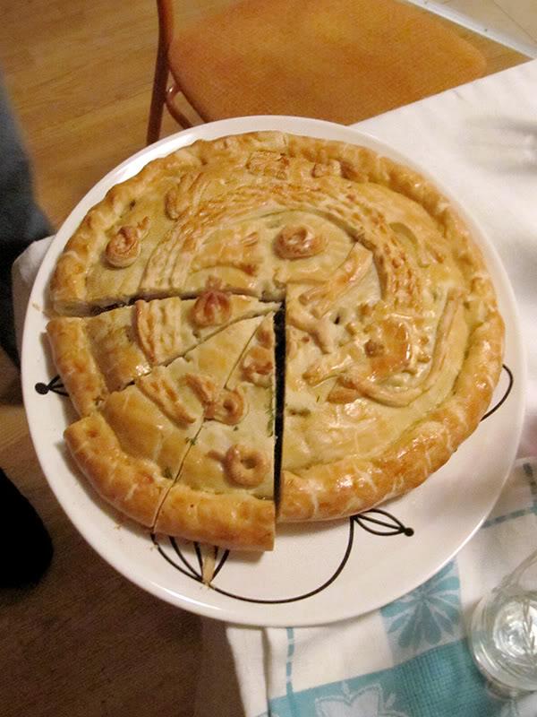 Дракон - пирог