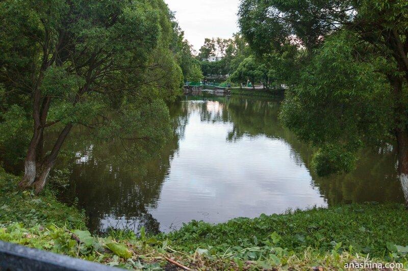 Пруды, Кремлевский сад, Вологда