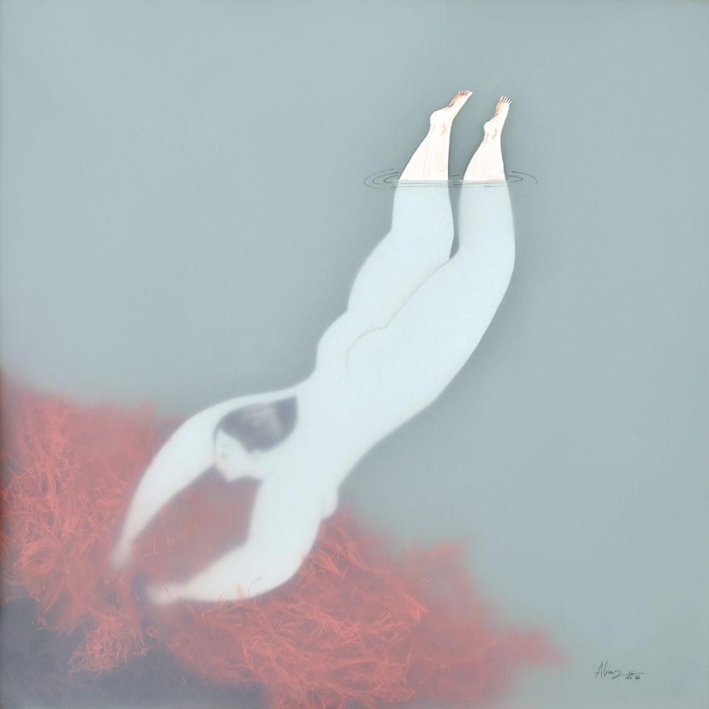 As mulheres aquaticas da ilustradora Sonia Alins