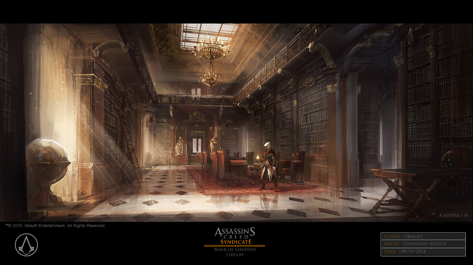 Assassin's Creed Syndicate Concept Art by Fernando Acosta