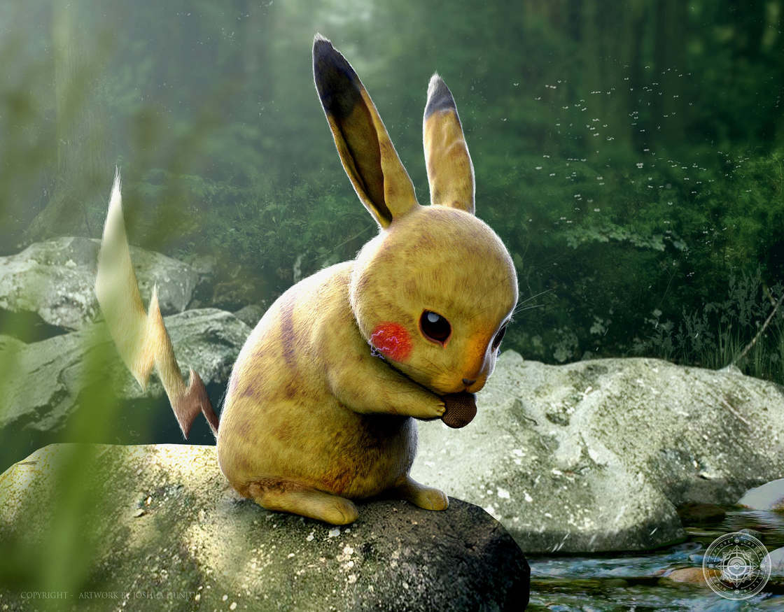 Les Pokemon ultra-realistes de l'illustrateur Joshua Dunlop (20 pics)