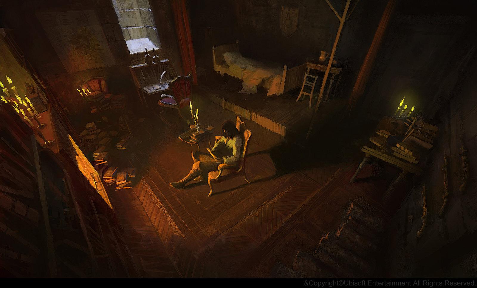 Assassin's Creed Unity Concept Art by Gilles Beloeil
