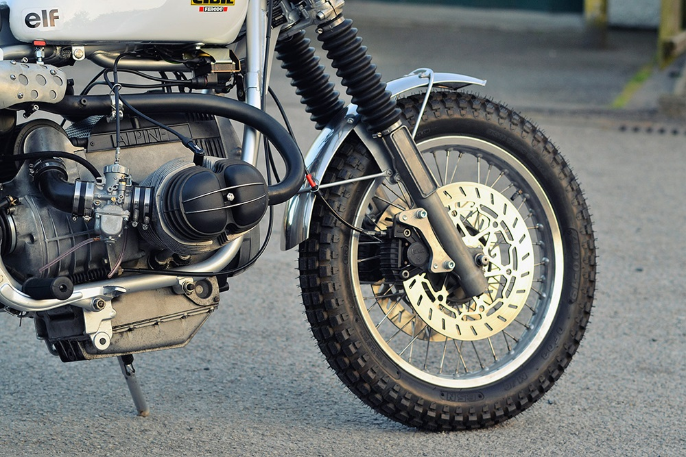 Dust Custom Motorcycles: скрэмблер BMW R100RS
