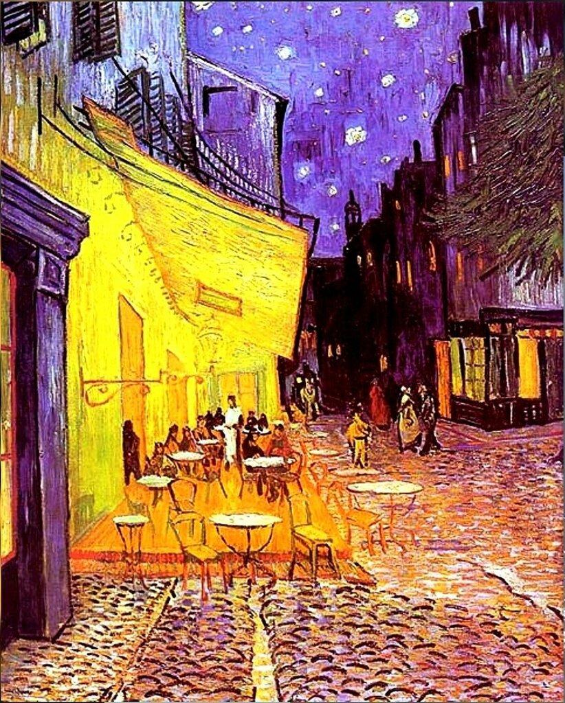 Винсент Ван Гог. Ночная терраса кафе.jpg