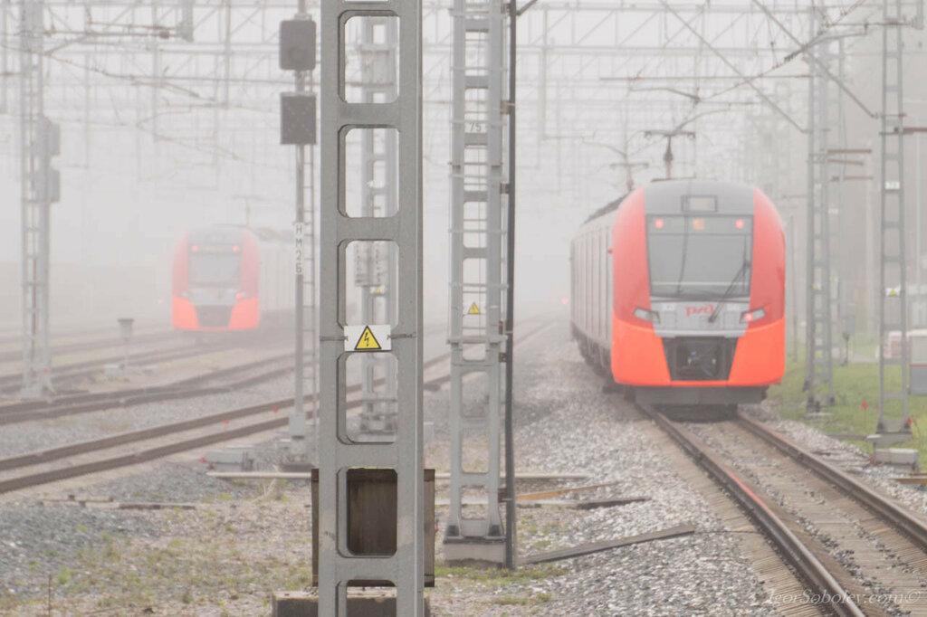 Туман на МЦК