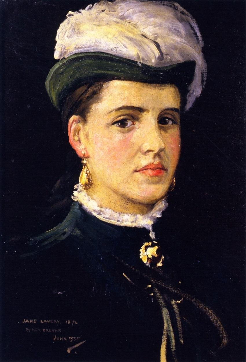 Посмертный портрет Джейн Лавери. 1876 г.jpeg