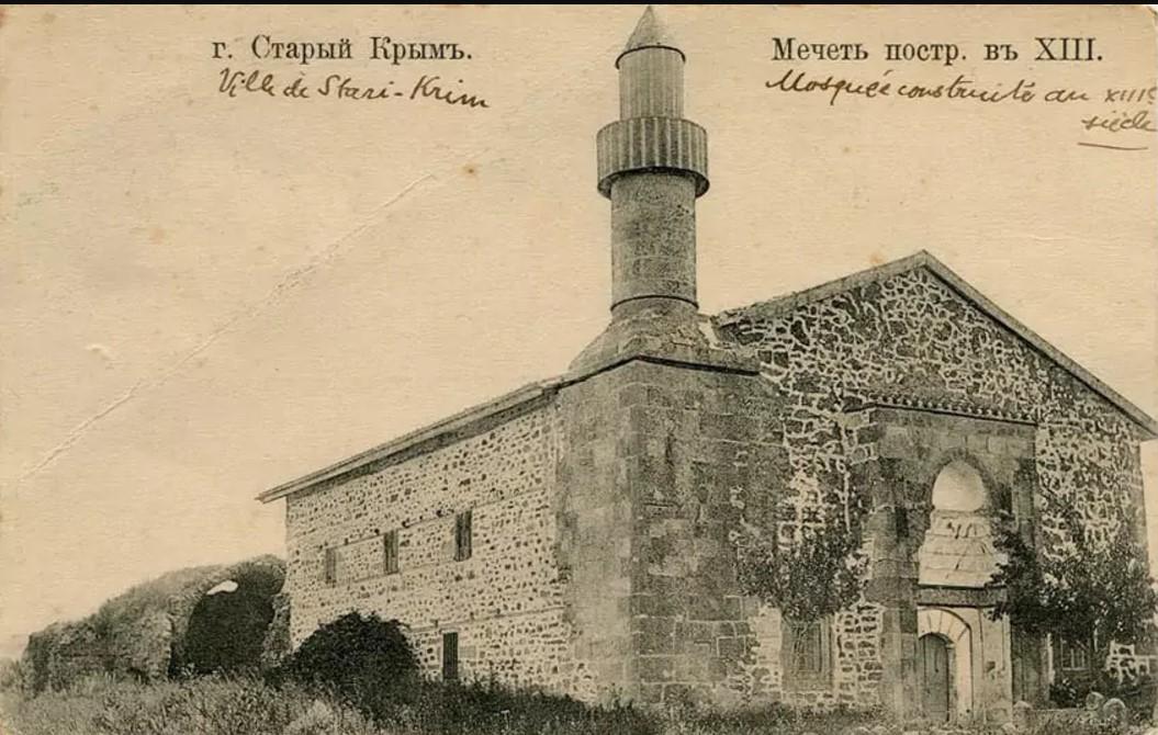 Мечеть построенная в XIII веке (Узбек хан джами)