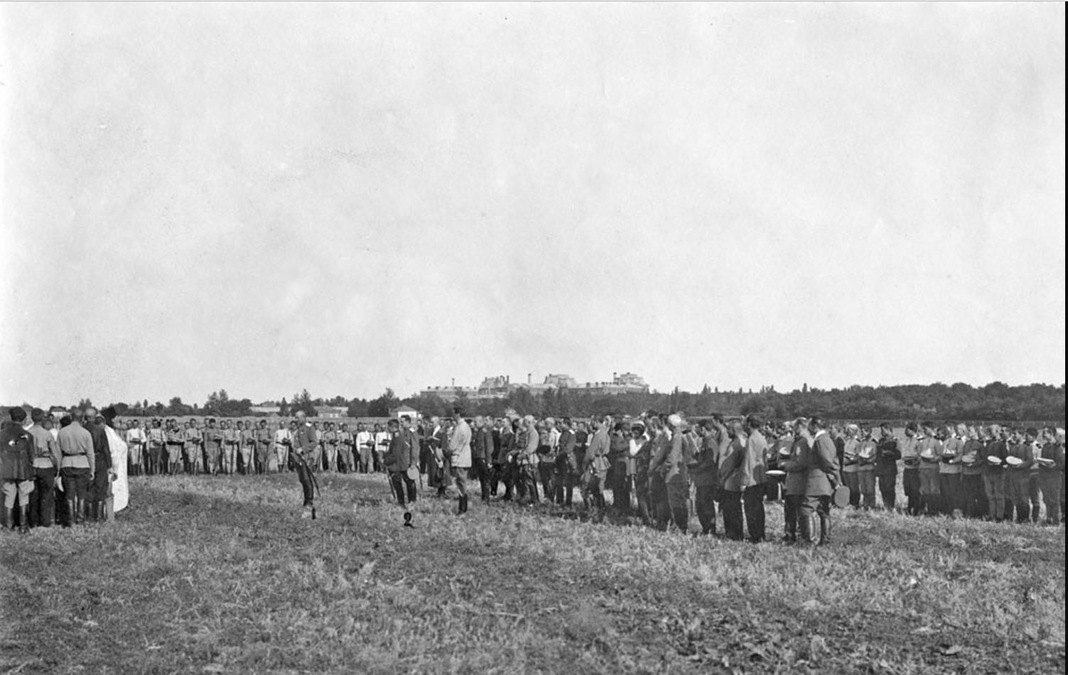 Празднование Дня авиации 20 июля 1919 в г. Новочеркасске