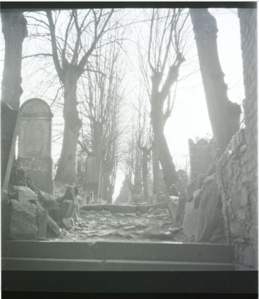 На старом еврейском кладбище