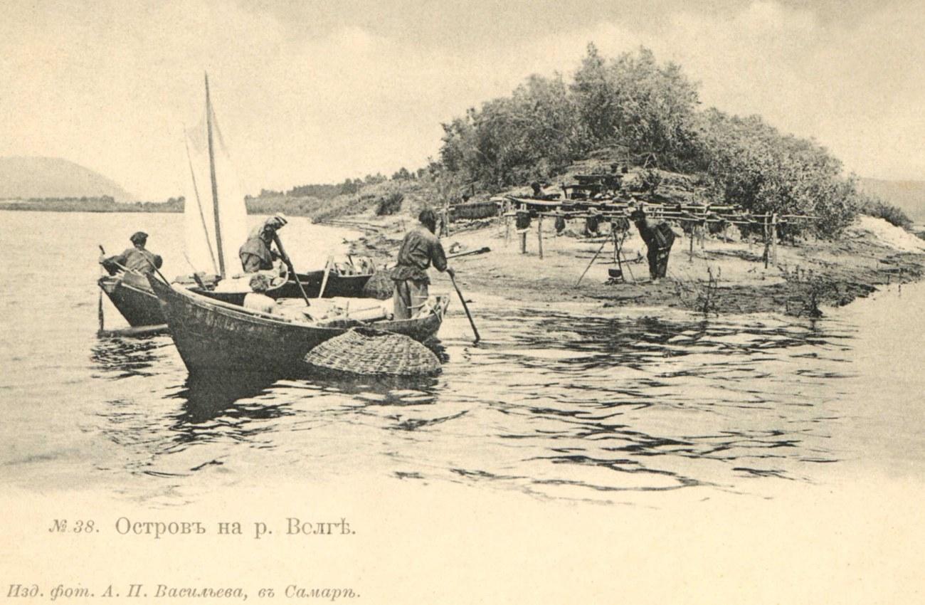 Окрестности Самары. Остров на Волге
