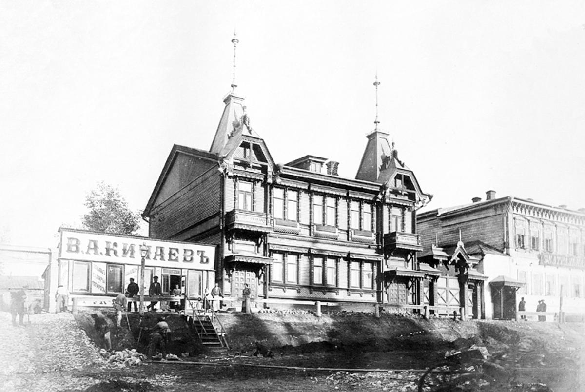 Дом дворянина Ю.И. Поплавского