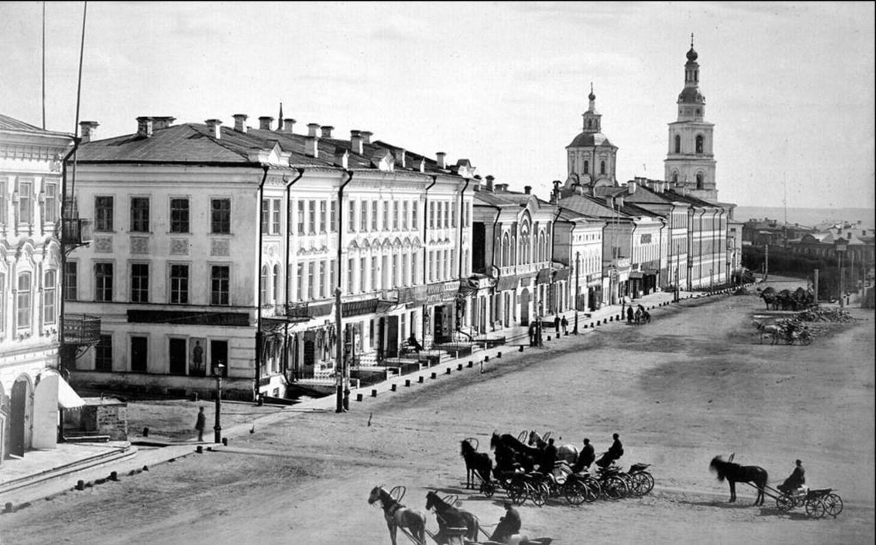 Большая Саратовская улица. 1880
