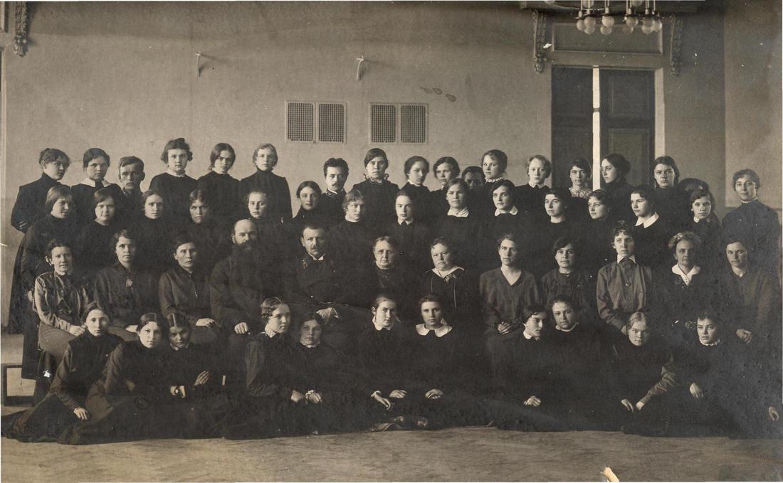 Мелекесская женская гимназия, 7 класс, 1917