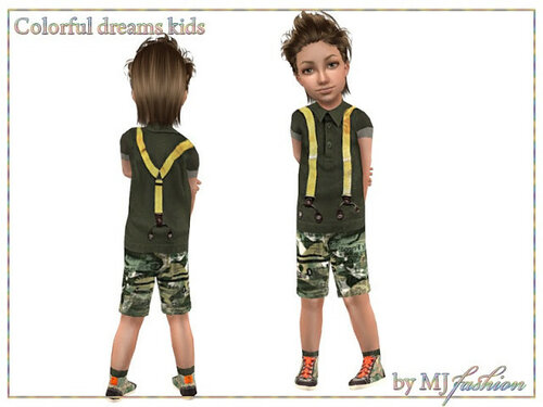 Colorful Dreams Kids.Safari by Klira