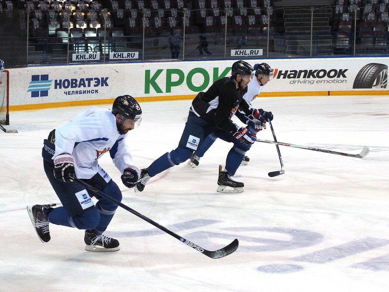 24 Открытая тренировка перед финалом плей-офф КХЛ 2017 06.04.2017