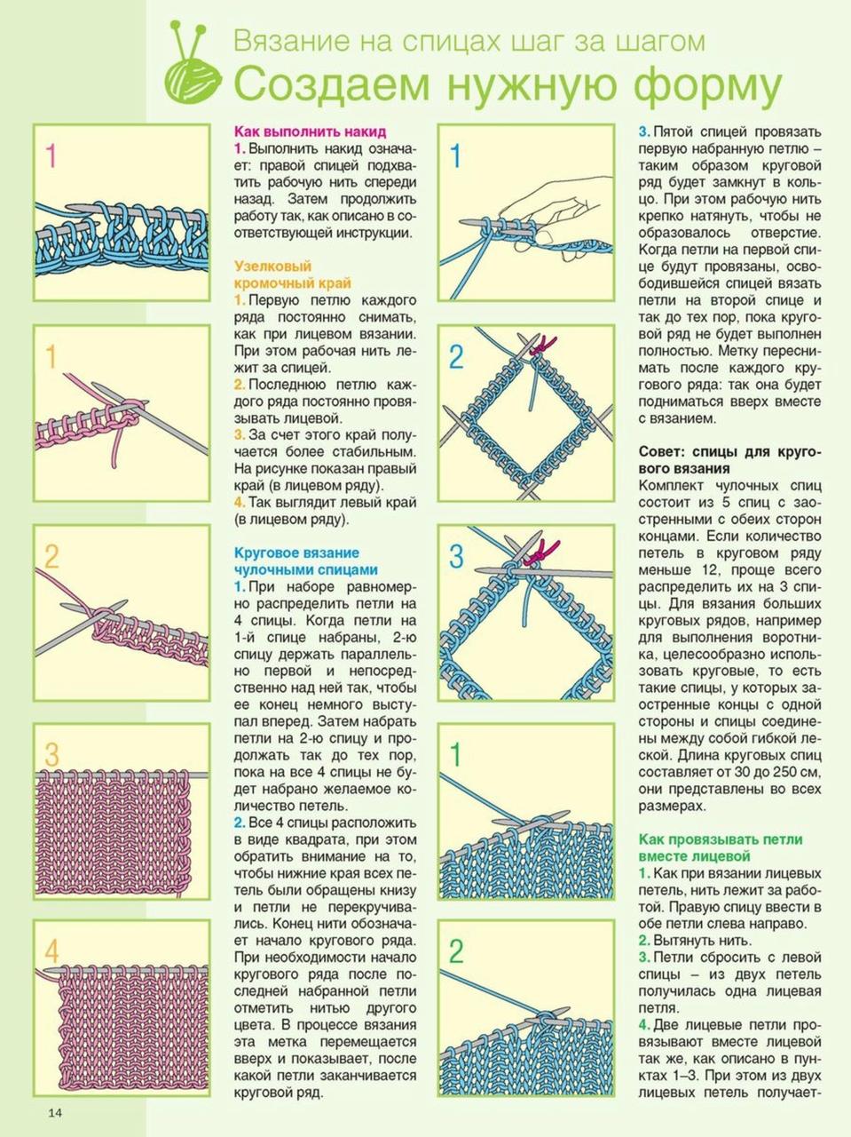 Вязание крючком и спицами схемы и модели 25