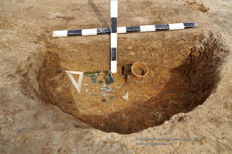 Спасательные археологические раскопки в Кубинке