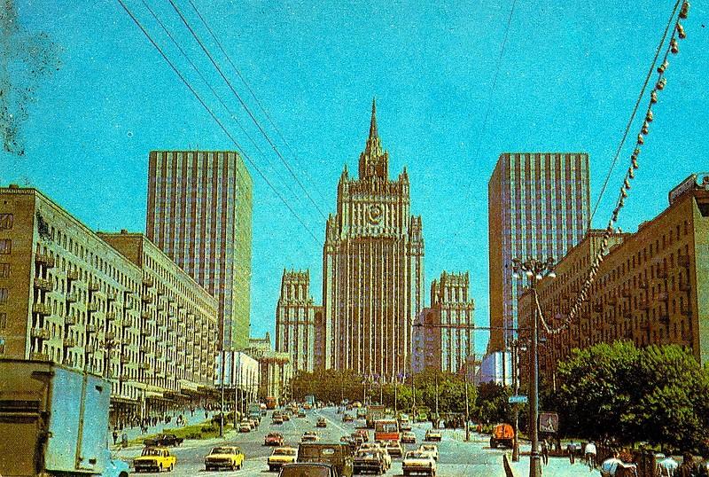 ZAVODFOTO / История городов России в фотографиях: Москва 70-х на календариках