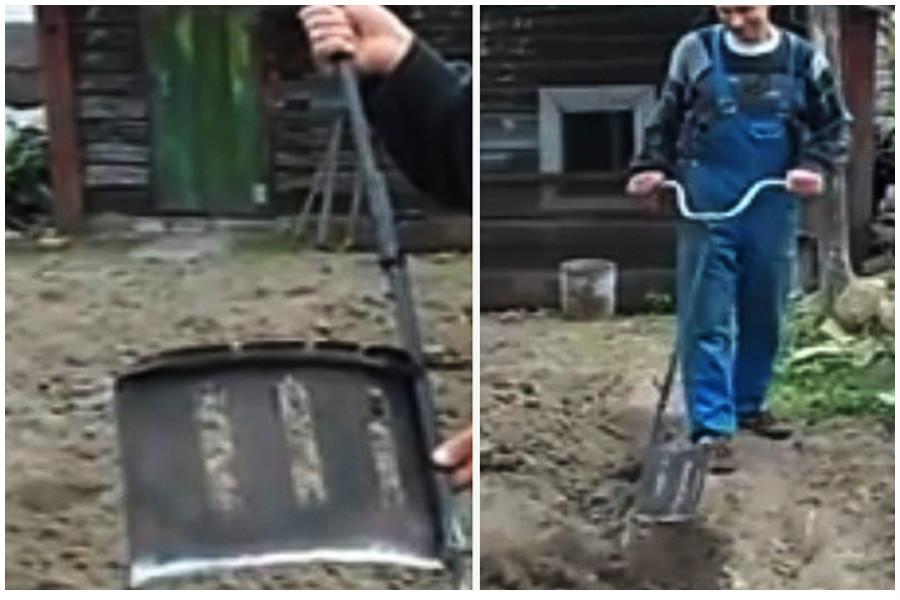 Самодельная чудо-лопата