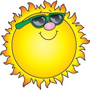 Открытки. 3 мая День Солнца! Солнце в солнечных очках!