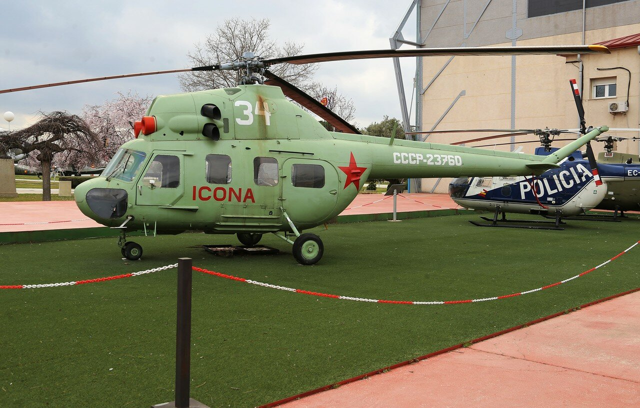 WSK Mil Mi-2 helicopter (Museo del Aire, Madrid)