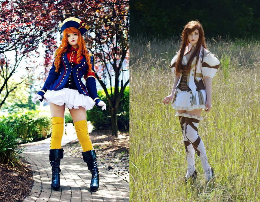 2. Ее увлечение началось с того, что она шила себе косплей-костюмы.