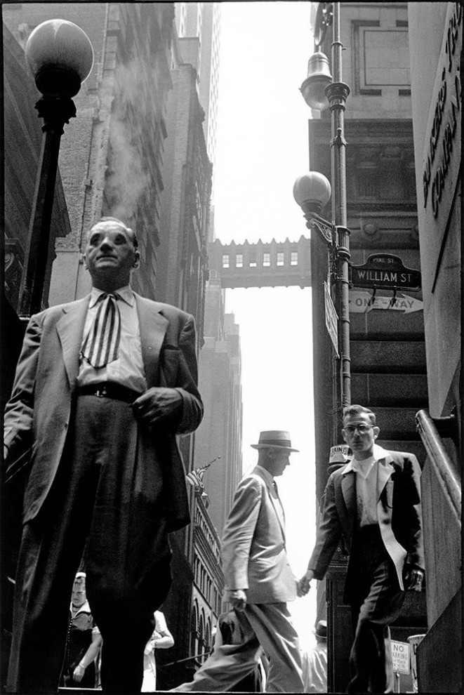 Фотографы Эллиотт Эрвитт и Анри Картье-Брессон, 1959 год.