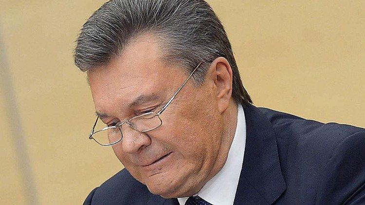Янукович клянется, что неполучал никаких опасений вгосизмене отГПУ