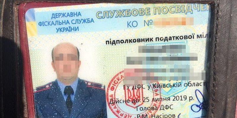 Сотрудника Госфискальной службы Киевской области словили навзятке в400 тыс. грн