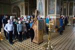 Воспитанники воскресной школы «Преображение» и Образовательного центра причастились Святых Христовых Тайн
