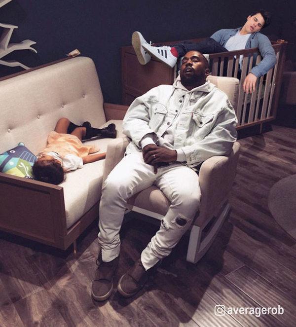 Мастер фотошопа Average Bob теперь проспал всех знаменитостей