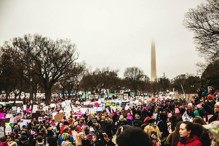 Women's March in Washington Captured by Simon Bonneau