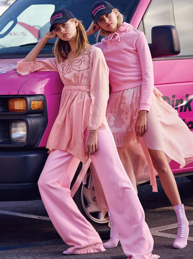 Pink Different by Bruno Staub for WSJ. Magazine February 2017 Issue