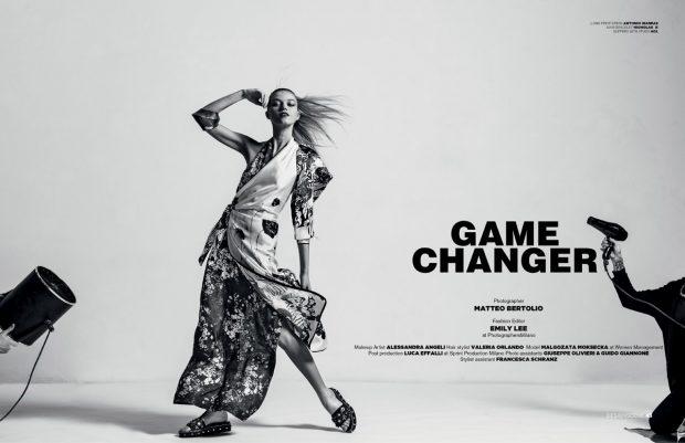 Malgozata Moksecka in Game Changer for Design SCENE Magazine