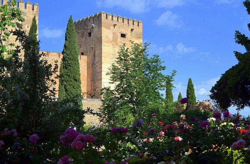 Красные башни Альгамбры