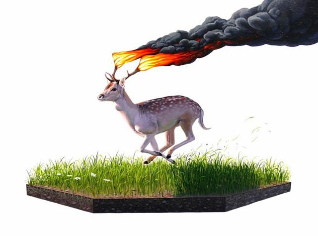 Eco-Surrealism From Josh Keyes