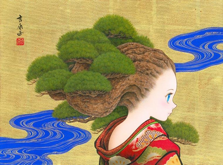 Tamura Yoshiyasu - Entre manga moderne et art traditionnel japonais