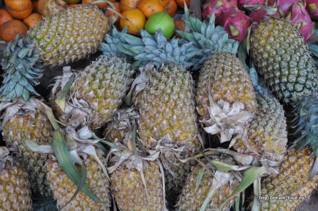 Собственно, ананасы