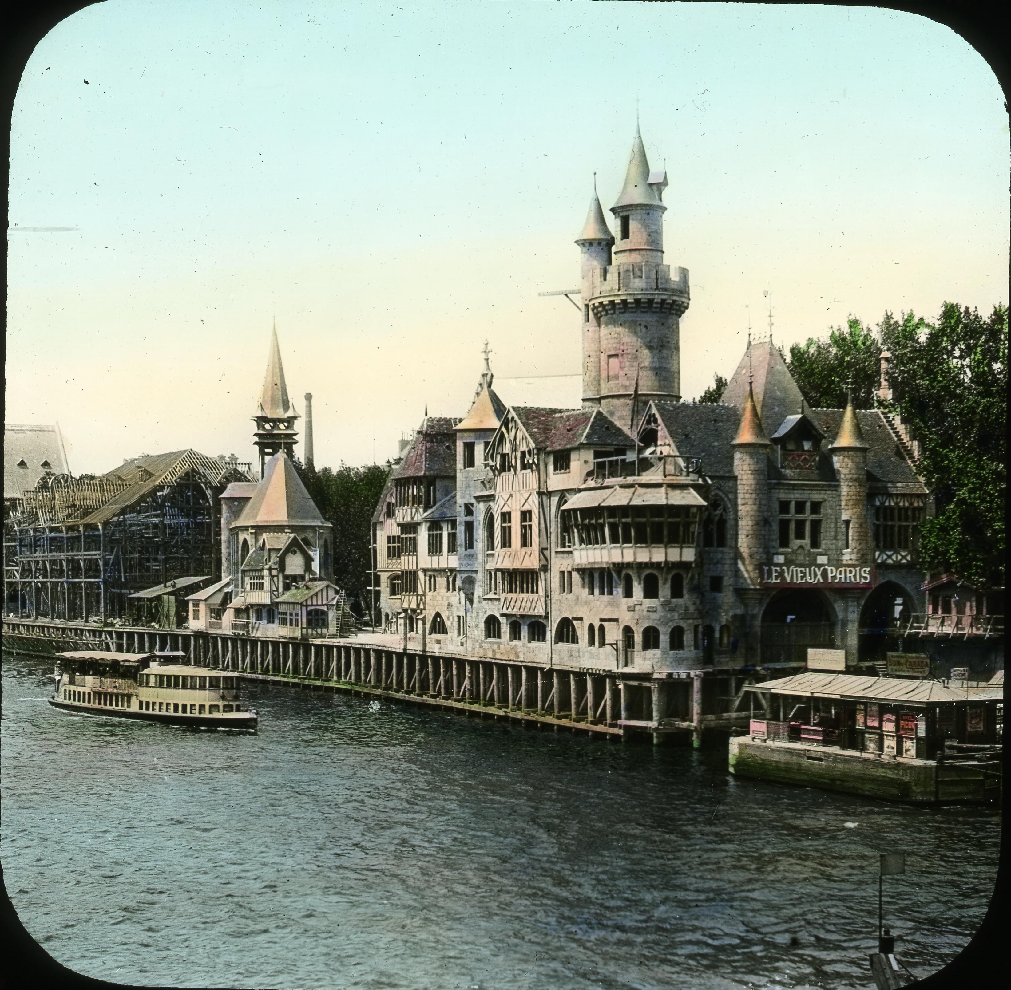Реконструкция старого Парижа