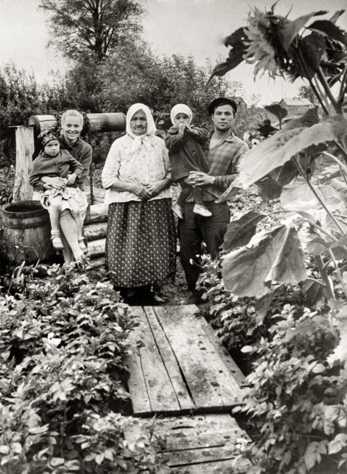 1968. Село Аксубаево. Семья