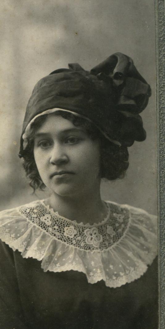 Портрет Антонины Ивановны Мяздриковой. 1911