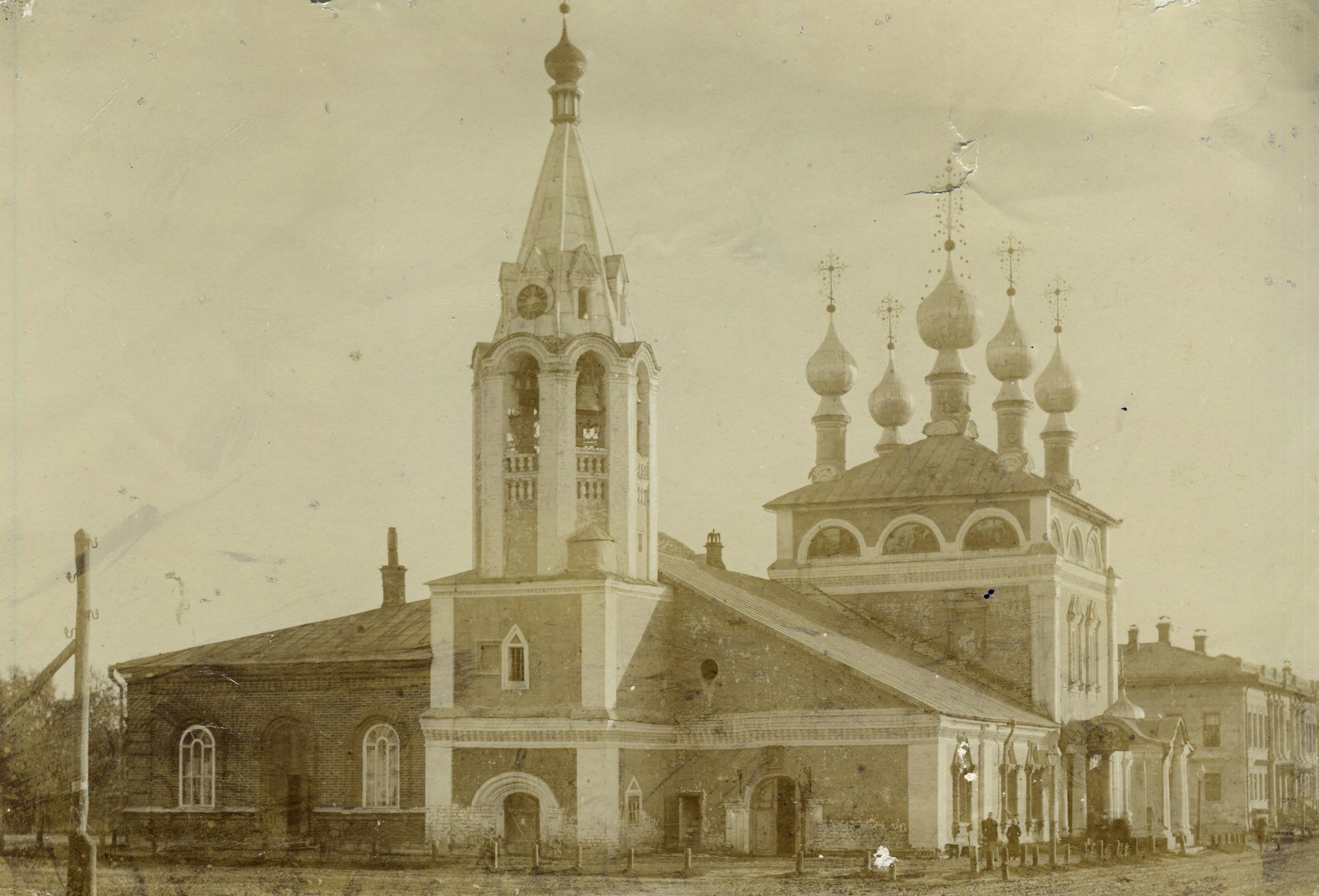 Вознесенская церковь. Вид с запада. 1890 – 1900