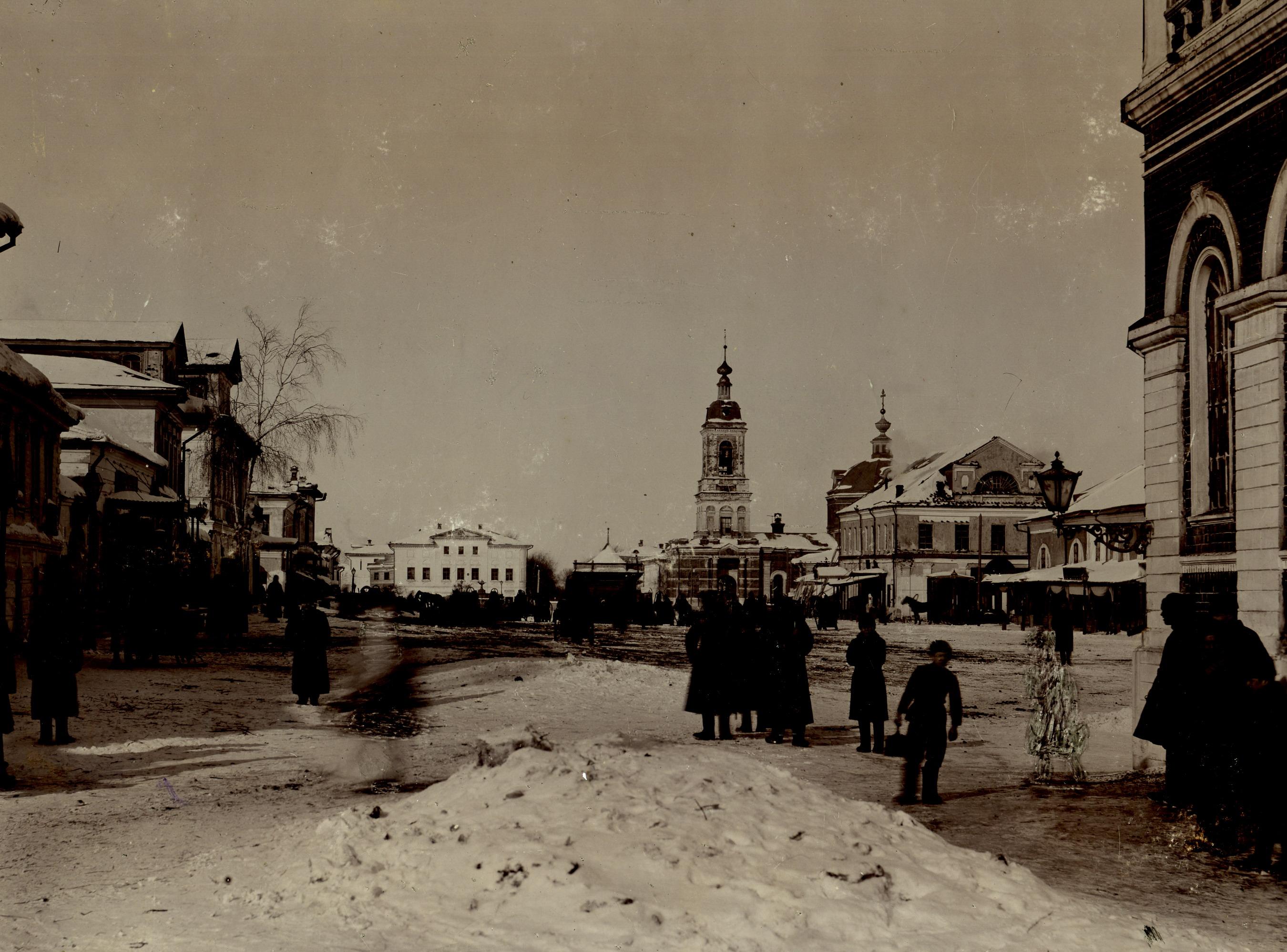 Рождественская улица. Водонапорная башня Ермакова.  1901