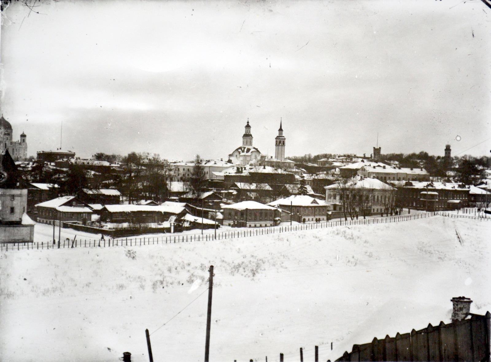 Вид на юго-западную часть города