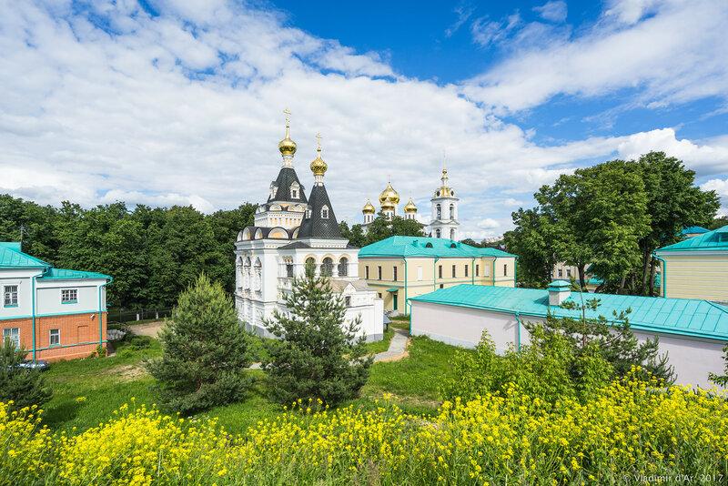 Елизаветинская церковь. Дмитровский кремль.
