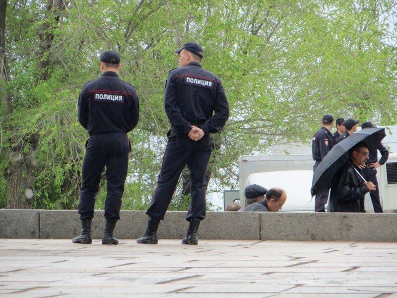 Окрестности Мамаева Кургана 9 мая 2015 года