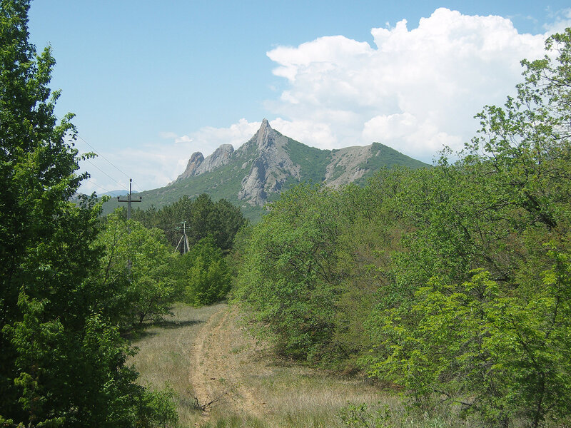 вид с места привала-ночевки №16 на гору Тарак-Таш