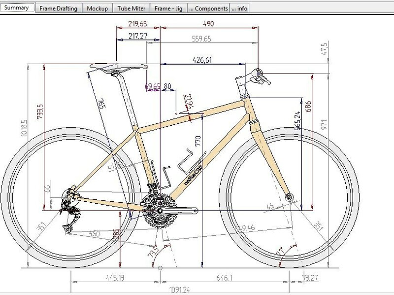 Велосипед чоппер своими руками чертежи 75
