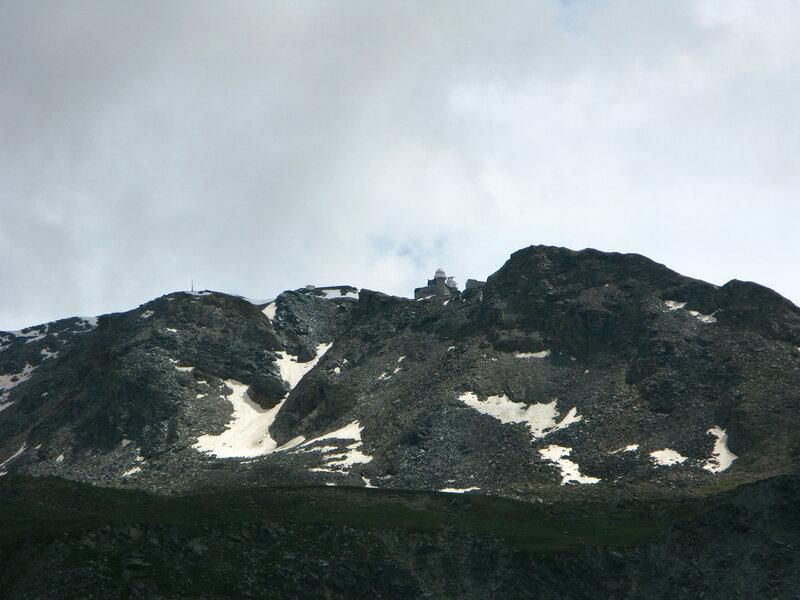 Вид на Горнерграт с соседней горы